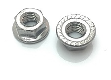 Hexagon Flange Nut with Serration
