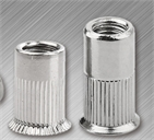 csk hd rivet nut with half knurled  (insert nut)
