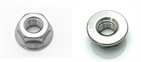 Hexagon Nut with Flange M8